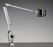 maschinenleuchte maschinenlampe led gelenkleuchte batz. Black Bedroom Furniture Sets. Home Design Ideas